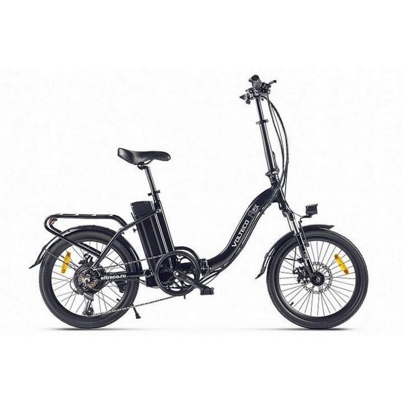Велогибрид Volteco Flex 022304-2193 черный
