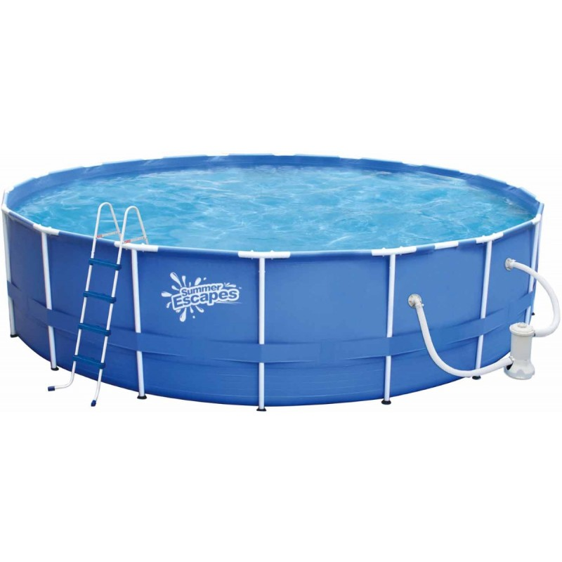 Каркасный бассейн SummerEscapes 396х132см Polygroup P20-1352-B