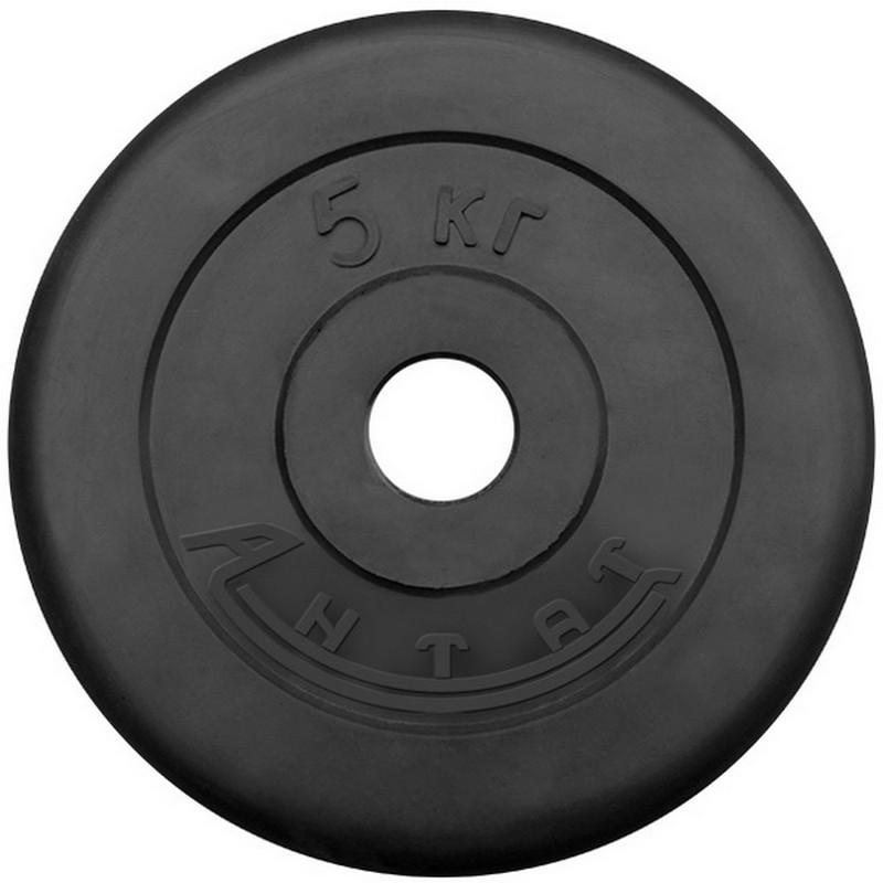 Диск обрезиненный Антат 5 кг D51 мм