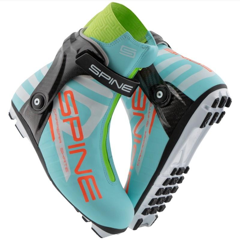 Лыжные ботинки Spine NNN Carrera Carbon Pro (598/10-M) (бирюзовый)