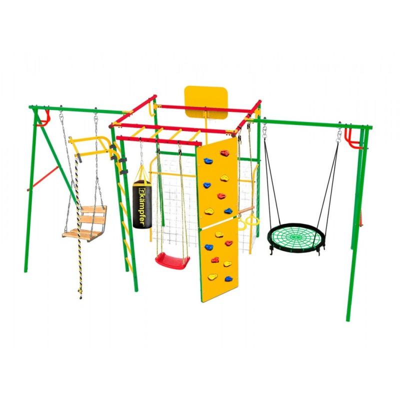 Спортивно-игровой комплекс Kampfer Monkey Young 60 (Гнездо малое зеленое)