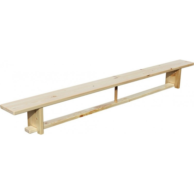 Скамья гимнастическая ZSO на деревянных ножках 2,8 м