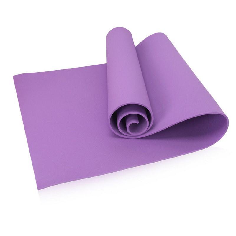 Коврик для йоги 173х61х0,8 см (фиолетовый) B32217
