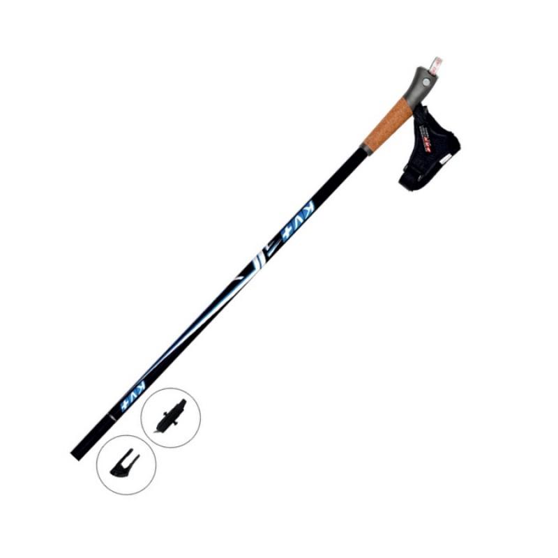 Палки для скандинавской ходьбы KV+ (9W02CO) Mistral Clip max 135 cm