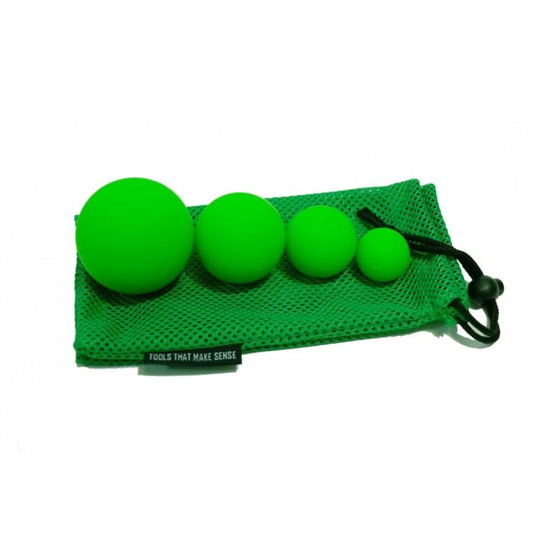 Набор из 4 массажных мячей Original Fit.Tools FT-4LCBS