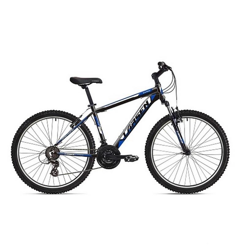 Велосипед Larsen Rapido 21ск, черный\синий