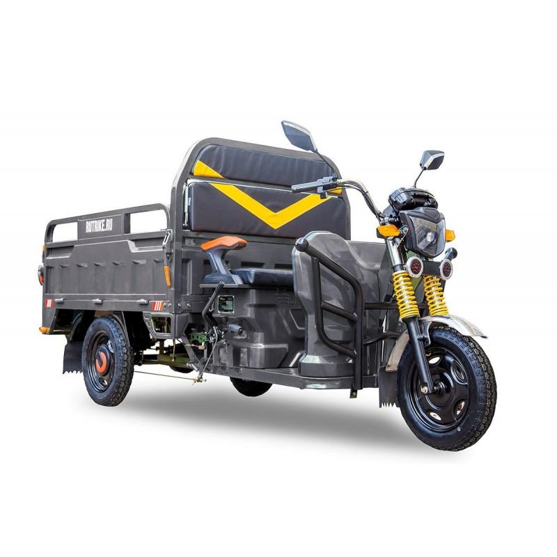 Грузовой электрический трицикл Rutrike Дукат 1500 60V1000W серый