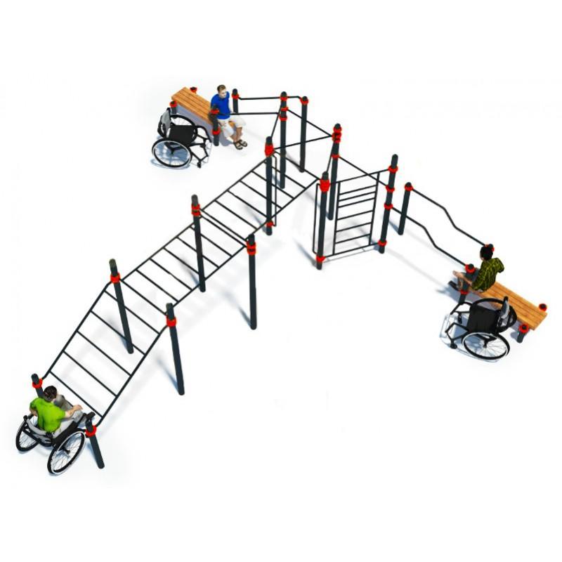Комплекс для инвалидов-колясочников Advanced Super W-7.01 Hercules 5203