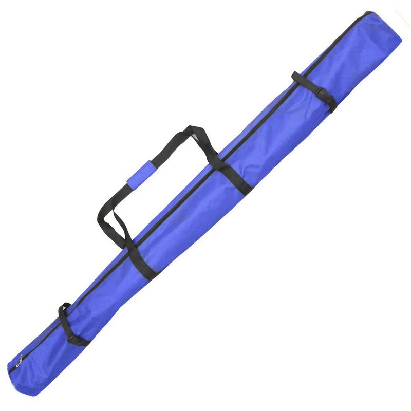 Чехол лыжный с молнией и двумя фиксаторами Б (синий) р.170 см ЧЛ170