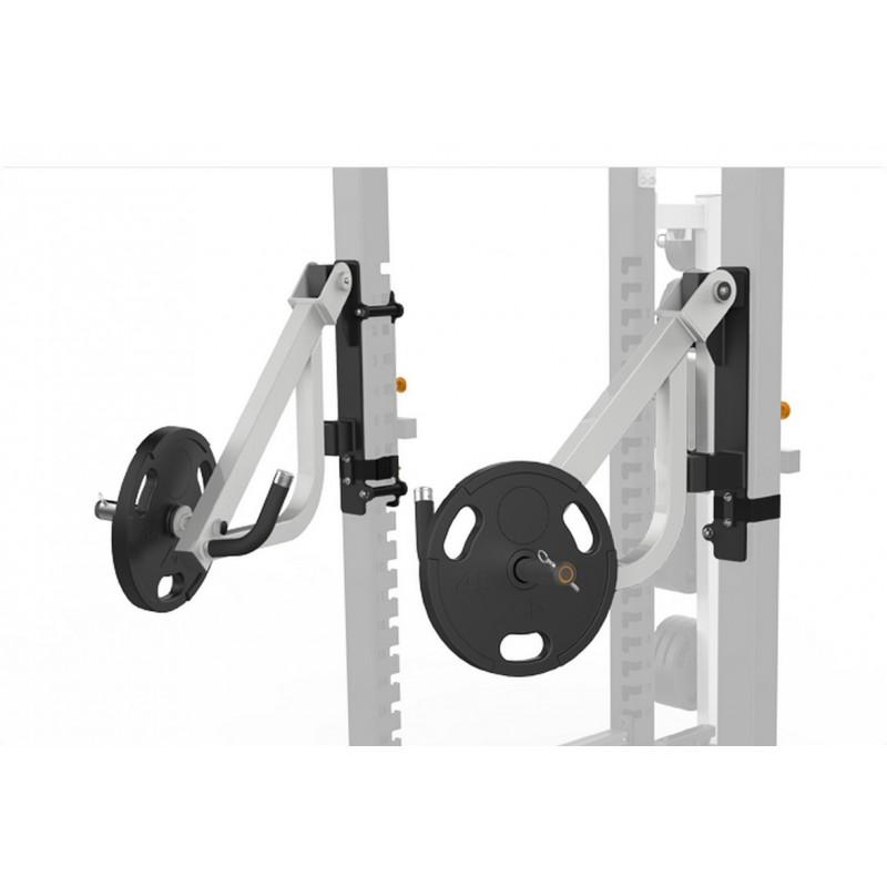 Рычаги для жима для силовой рамы MEGA Power Rack Matrix MAGNUM OPT17R серебристый