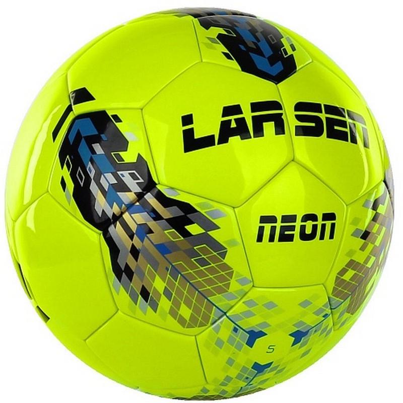 Мяч футбольный Larsen Neon Lime р.5