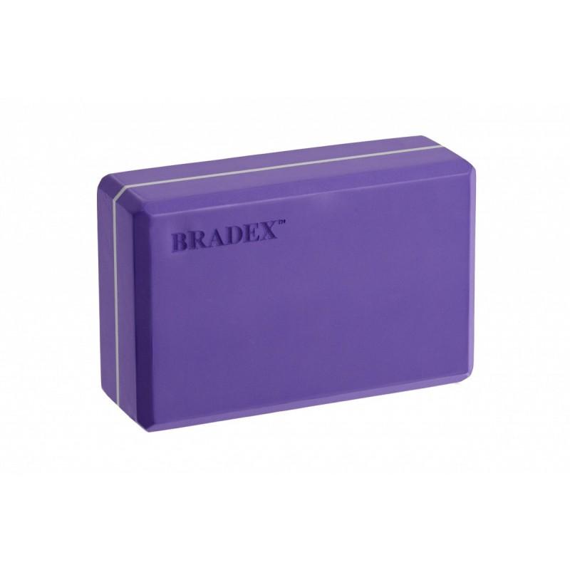 Блок для йоги Bradex SF 0409 фиолетовый