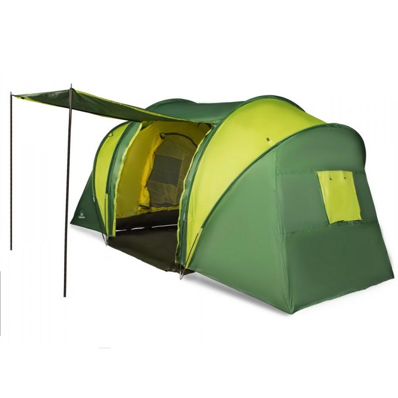 Палатка шестиместная Greenwood Halt 6 зеленый\ лайм