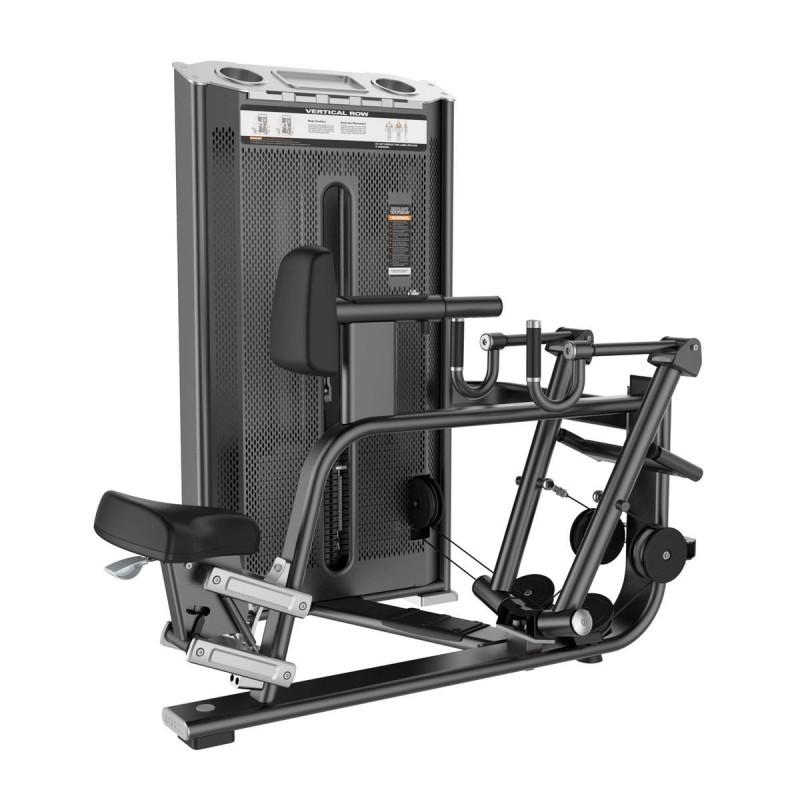 Гребная тяга с упором на грудь (Vertical Row) DHZ Kurtsyn Gym E-7034A
