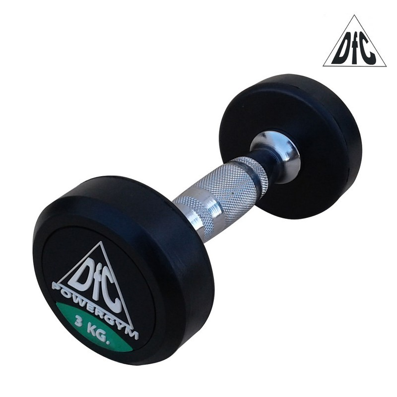 Гантели пара 3 кг DFC PowerGym DB002-3