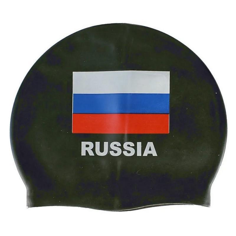 Шапочка для плавания силиконовая E29429-3 черный