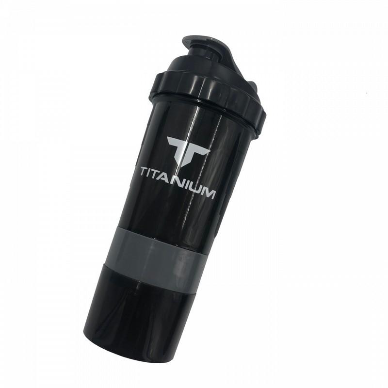 Шейкер Titanium 0,5 мл, серый SF 0530