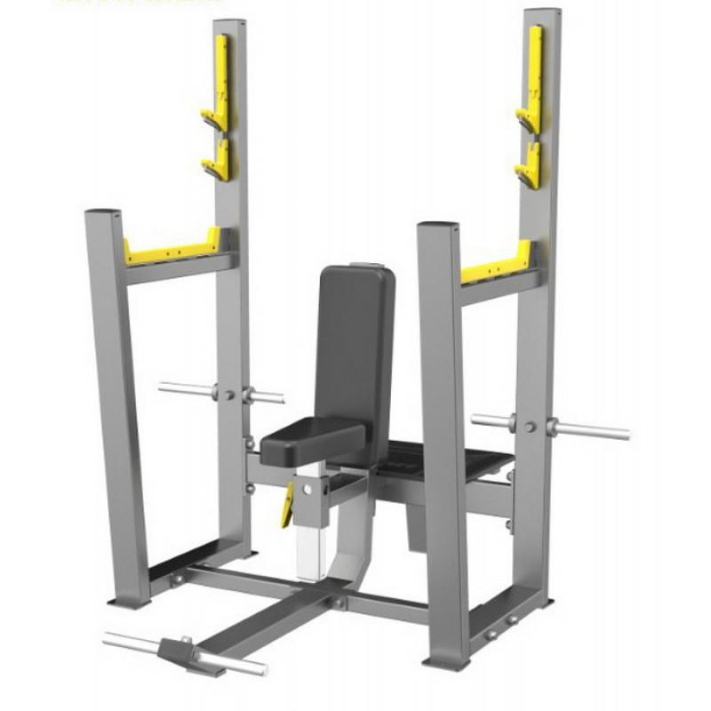 Скамья для вертикального жима штанги (Olympic Seated Bench) DHZ E-3051