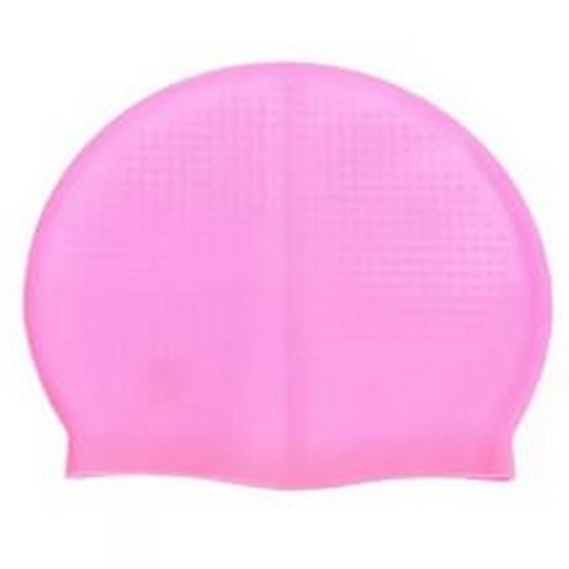 Шапочка для плавания Dobest силиконовая SH40 розовая