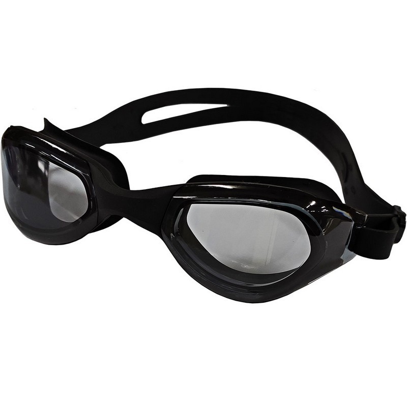 Очки для плавания мягкая переносица B31542-8 Черный