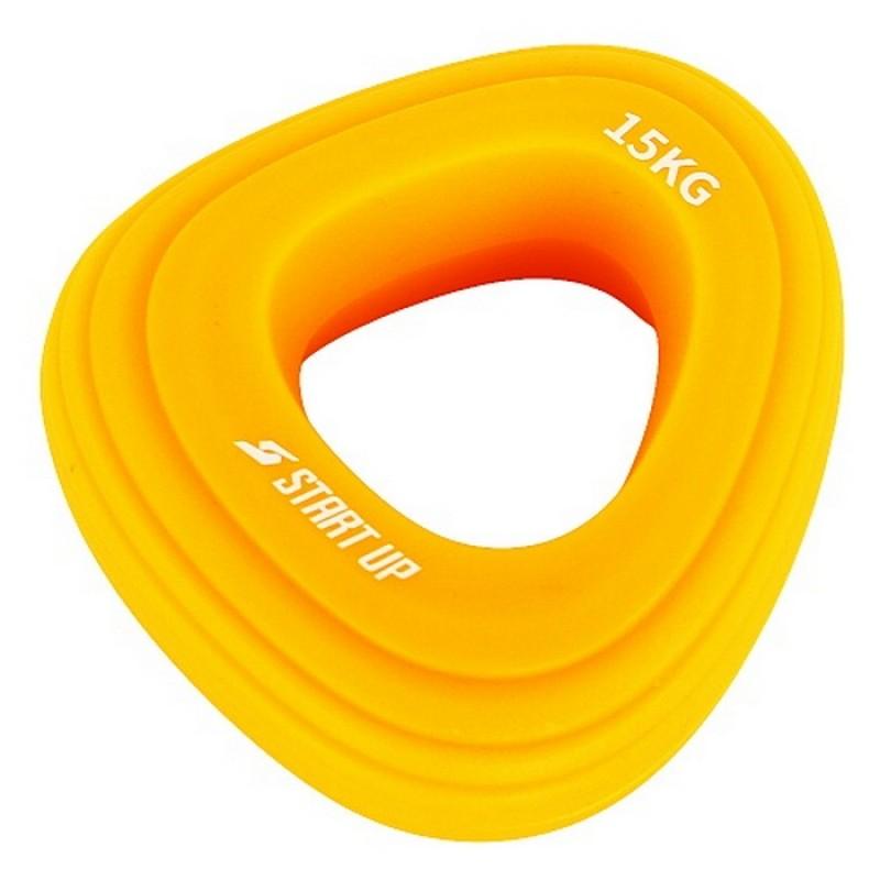 Эспандер кистевой Start Up NT34040 (нагрузка 15 кг) жёлтый