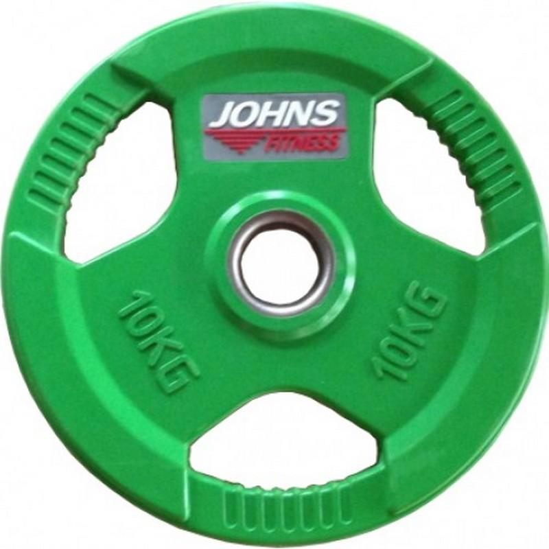 Диск Johns d51мм, 10кг 91010 - 10С зеленый