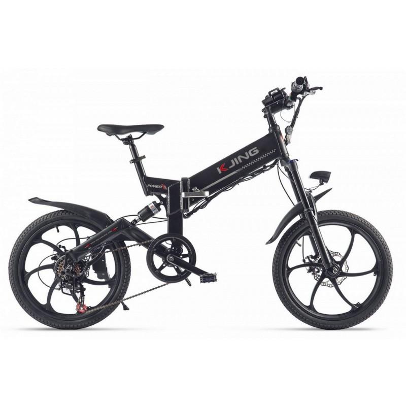 Велогибрид Kjing Power Sport 022566-2311 белый
