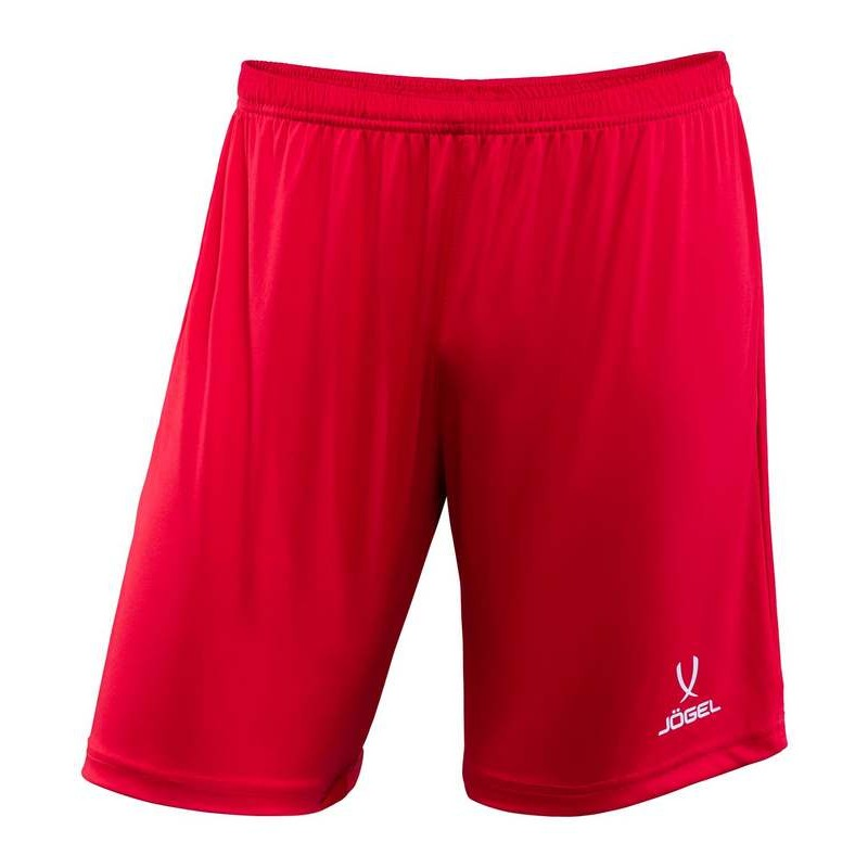 Шорты футбольные J?gel JFT-1120-021-K, красный/белый, детские