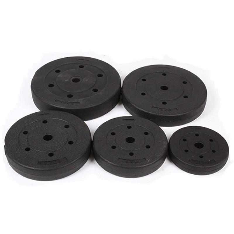 Диск пластиковый/цемент CPL-026-2.5  (d 26 мм), 2,5 кг чёрный
