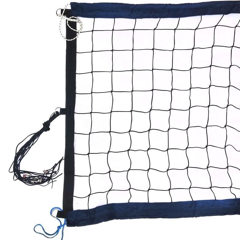Сетка для пляжного волейбола проф. 8,5х1м,нить 3,5мм ПП,яч.10см FS-PV-№12 черный