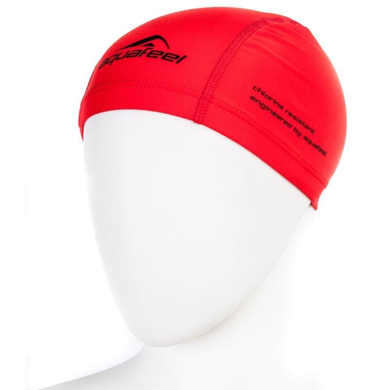 Шапочка для плавания Fashy Training Cap AquaFeel 3255-40 полиамид/нейлон/эластан, красный