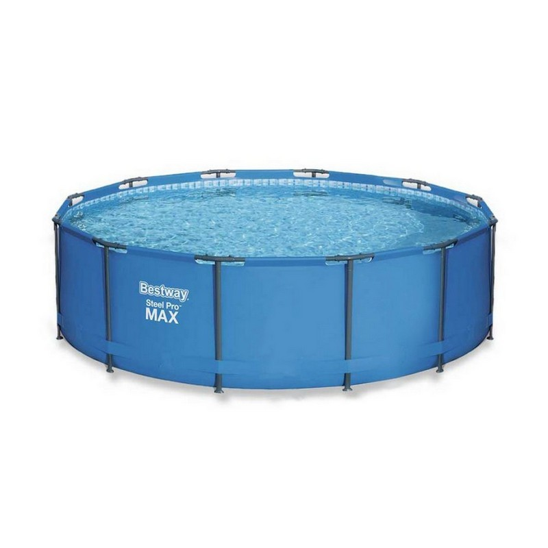 Каркасный бассейн круглый 366х133см Bestway Steel Pro Мах 15428