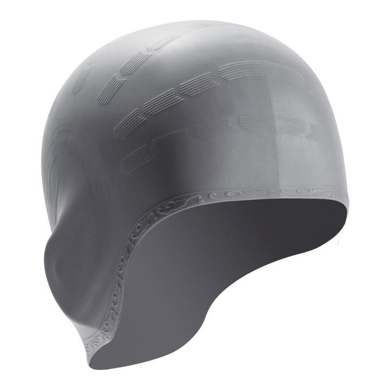 Шапочка для плавания силиконовая B31514-9 (Серебро)