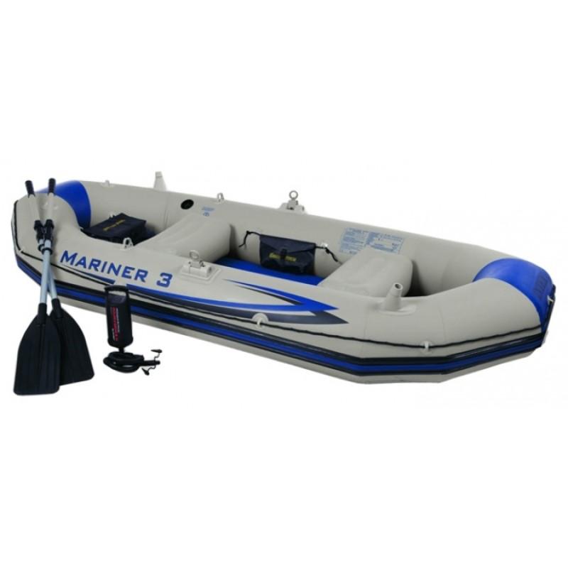 Лодка Intex Mariner 3 Set 68373