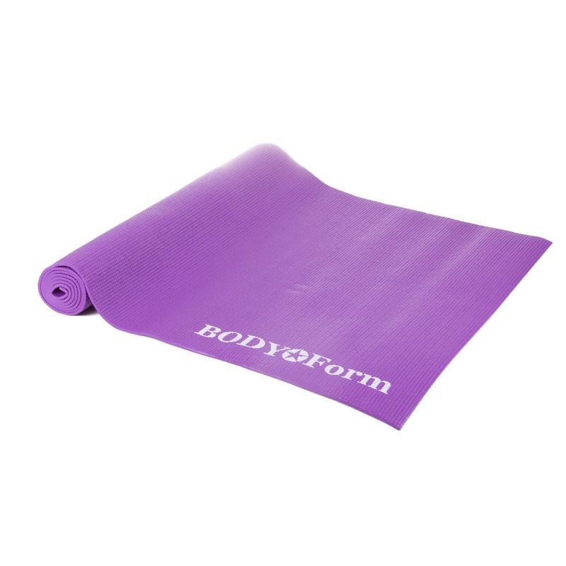 Коврик гимнастический Body Form 173x61x0,4 см BF-YM01 фиолетовый