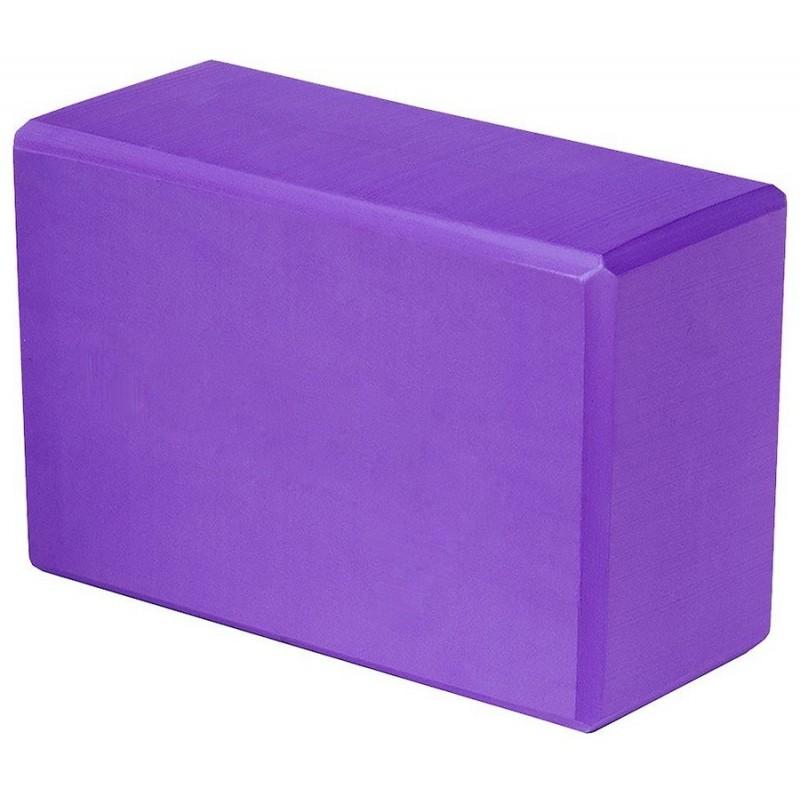 Блок для йоги Atemi AYB02PL, 228x152x76, сиреневый