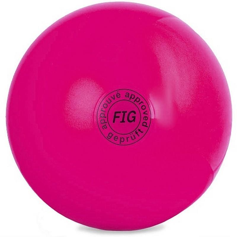 Мяч для художественной гимнастики 15 см GC 01 розовый