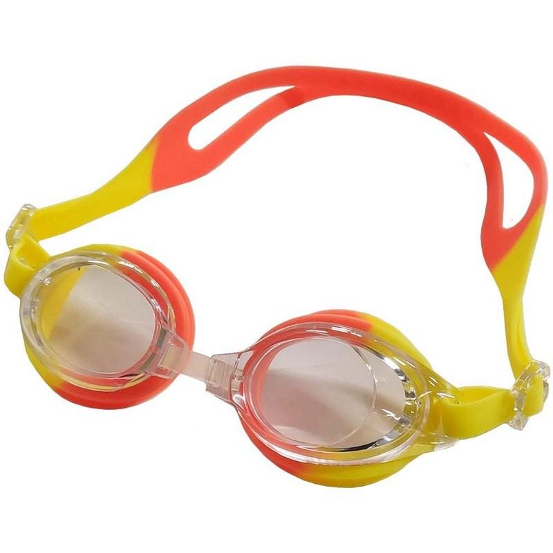 Очки для плавания детские B31571 (желто-оранжевые)