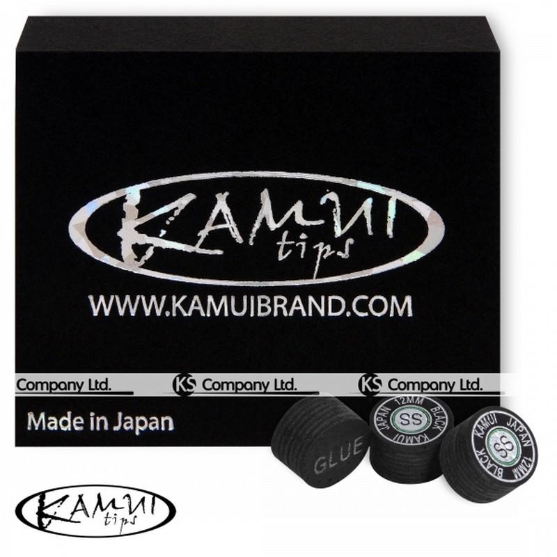 Наклейка для кия Kamui Black ?14мм Super Soft 1шт.