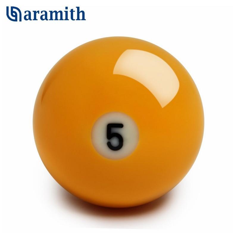 Шар Aramith Premier Pyramid №5 ?68мм желтый