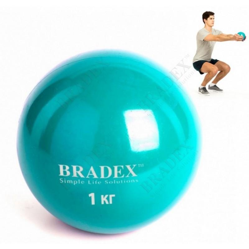 Медбол Bradex 1 кг SF 0256