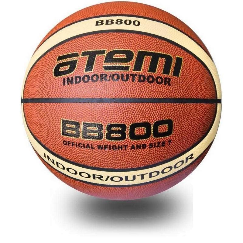Баскетбольный мяч р.7 Atemi синтетическая кожа ПВХ BB800