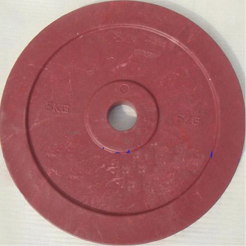 Диск технический d51мм DHS 2,5 кг, зелёный, красный