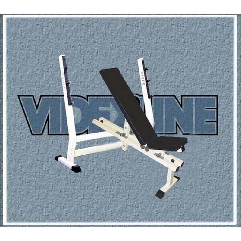 Скамья для жима лежа регулируемая Hercules В-002 2293