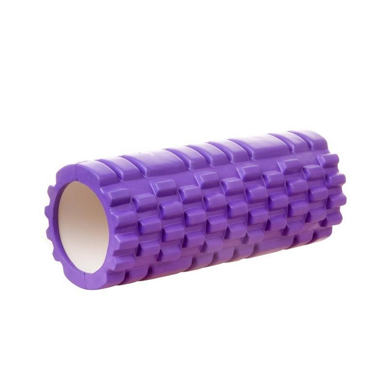 Ролик массажный 33x14см Body Form BF-YR01 фиолетовый