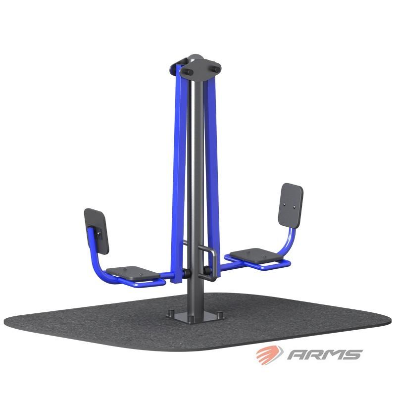 Жим ногами сдвоенный ARMS ARMS032