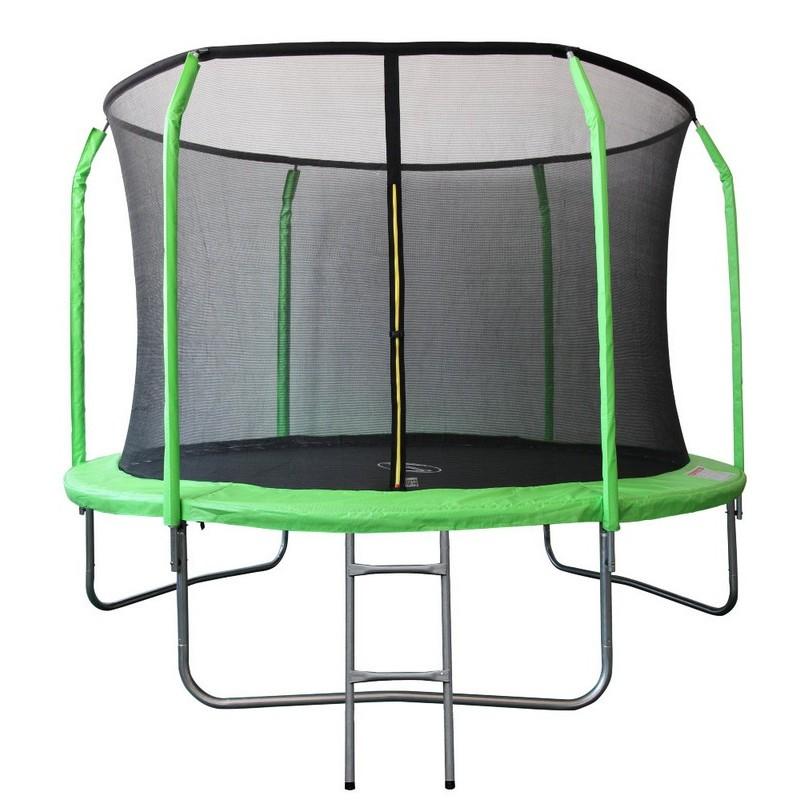 Батут Sport Elite с защитной сеткой внутрь, 3,05м GB30201-10FT салатовый