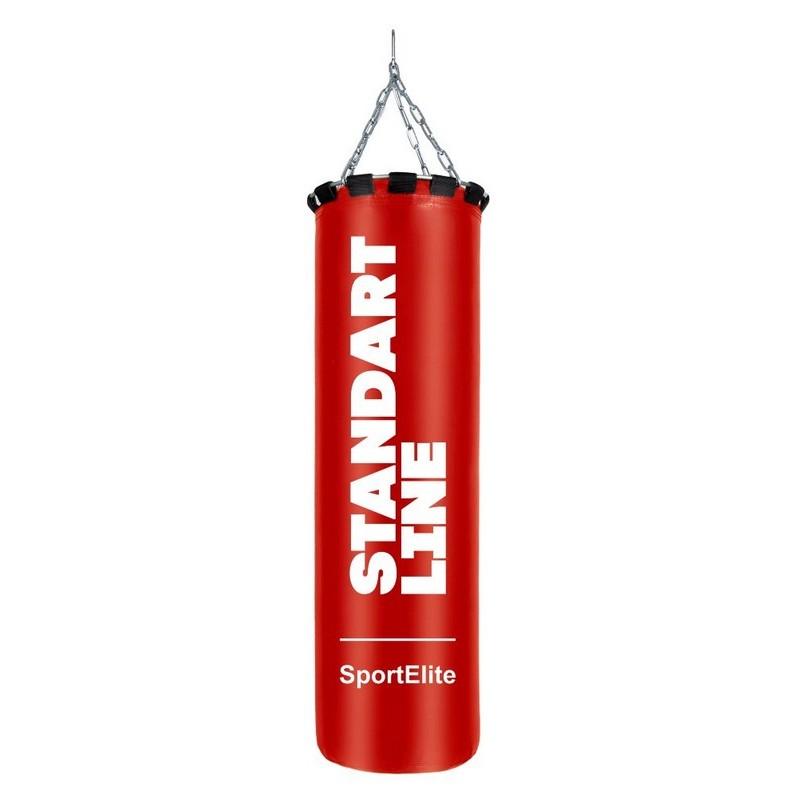 Мешок боксерский Sport Elite Standart line 120см, d-34, 45кг SL-45R красный