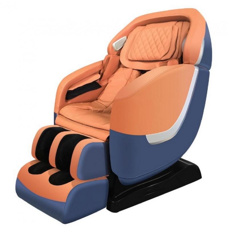 Массажное кресло VictoryFit VF-M828 терракот-синий