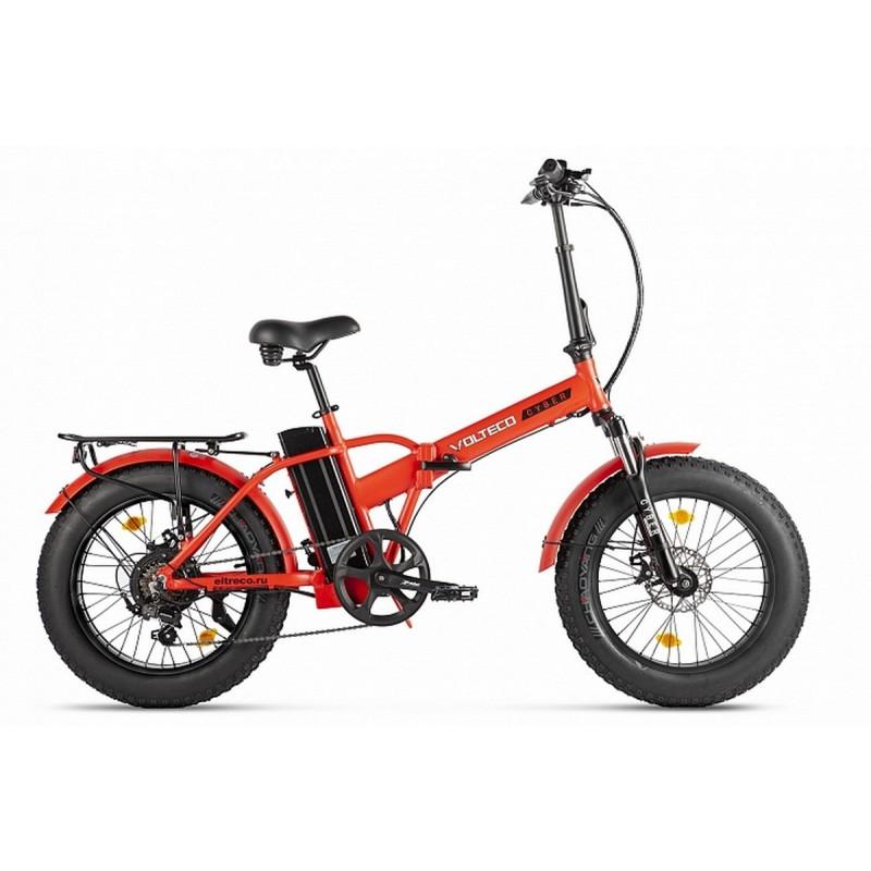 Велогибрид Volteco Cyber 022303-2214 красно-черный